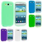 galaxy iii phone - TPU Jelly Solid Rubber Color Skin Case Cover for Samsung Galaxy S III S3 Phone