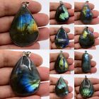 37-55mm Labradorite teardrop pendant bead *Each one picture*