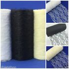 lace net ivory white or black  15cm or 30cm wide sold per metre