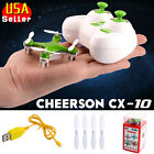 Cheerson CX-10 2.4Ghz 4CH 6-Axis GYRO Mini Nano RC Quadcopter Green UFO Drone US