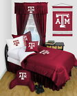 Texas A&M Aggies Comforter & Pillowcase Twin Full Queen Size LR