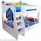 New in   Flair Furnishings Flick Wooden Bunk Bed With Storage - Free Delivery