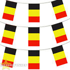 BELGIUM EURO FOOTBALL 2016 COUNTRY BUNTING 33FT LARGE FLAG DECORATION 20 FLAGS
