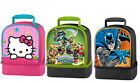 Thermos Dual-Compartment Lunch Kit, Hello Kitty, Skylander, Cinderella