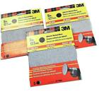 "3M Adhesive Backed Sanding Discs 40,  80 or 120 Grit   5"" 125 mm For Drills PF"
