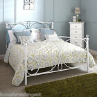 New In | GFW Panache Classic White Metal Bed Frame + Pocket Memory Mattress