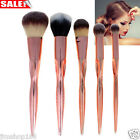 5pcs Pro Makeup Cosmetic Brushes Powder Foundation Eyeshadow Contour Brush Tool