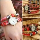 Fashion Style PU Leather Casual Bracelet Watch Wristwatch Women Dress Watches