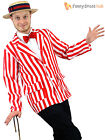 Adults Old English Edwardian Blazer Mens Barbershop Fancy Dress Quartet Costume