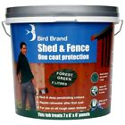 Bird Brand Shed and Fence One Coat Protection - 5 Litre - Various Colours