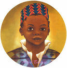 Ceramic Decals African American Boy Traditional Dress