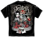 Dealer Gambler Spades Poker Chips Cards Vegas Tshirt - 3 Colors