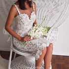 2016 Women's Summer Slim Sleeveless Evening Party Beach Dress Mini Lace Dress