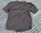 UK BRITISH ARMY SURPLUS GRADE 1 BROWN MOISTURE WICKING T-SHIRT,LIGHT BASE LAYER