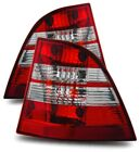 Fit 98-05 Merceses Benz W163 ML320 ML430 ML500 ML55 Red Clear Tail Lights Lamps