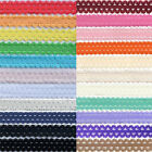 "5 Yard 3/4"" Picot Edge Frilly Lace Elastics Spandex Bands Dress DIY Sewing Trims"