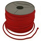 3mm ELASTIC BUNGEE ROPE SHOCK CORD TIE DOWN RED, ROOF RACKS TRAILERS BOATS