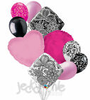 ~MANY COLORS~ 10 pc Mehndi Accent Balloon Bouquet Wedding Baby Shower Bridal