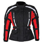 SPADA CORE BLACK RED LADIES WOMENS WATERPROOF MOTORCYCLE MOTORBIKE JACKET