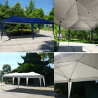 10'X 20' Easy POP UP Wedding Party Tent Foldable Gazebo Beach Canopy W/ Bag