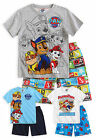 Boys Official Nickelodeon Paw Patrol Short Sleeved 100% Cotton Pyjama 3-8 Years