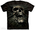Breakthrough Skull The Mountain Adult Size T-Shirt  Face S-3XL Tee Goth Punk