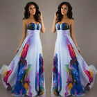 Women Sexy Summer Dresses Boho Maxi Long Evening Party Dress Beach Sundress New