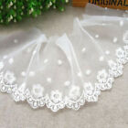 New Lace Trims Floral Embroidery Trimmings Sew On Fabric Wedding Dress Veil