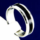 New Mens Stainless Steel Engagement Wedding Anniversary Band Ring