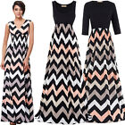 New Womens Ladies Boho Sexy Summer Beach Evening Party Long Maxi Dress vacation
