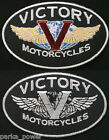 Victory Motorcycles patch, badge, biker, iron on $4.95 USD on eBay