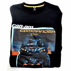 CAN AM COMMANDER T-SHIRT BLACK M, XL
