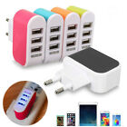 Universal 3 USB Ports Home Travel Wall AC Power Charger Adapters US/EU Plug EW