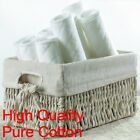 45x16cm Pure Cotton Antibacterial Baby Cloth Diaper Liner Insert Nappy Washable