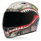 Bell Powersports Vortex-Flying Tiger Full Face Motorcycle Helmet