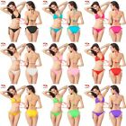 Women Sexy Lady Swimwear Swimsuit Bikini Set Push-up Halter Padded Top+Bottom