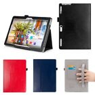 Luxury Case Cover, Screen Protector & Stylus For Lenovo Tab 3 10.1 Inch Tablet