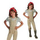 Original Rubies Childs Complete Outfit WW2 Land Girls New Fancy Dress Costume