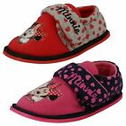 Girls Minnie Mouse House Slippers Boarder