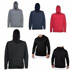 MEN'S PULLOVER, POLYESTER PERFORMANCE, LIGHTWEIGHT, HOODIE, S M L XL 2X 3X 4X