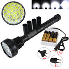 Superbright 32000Lm 24x XML T6 LED 5Mode 18650 Tactical Flashlight Hunting Torch