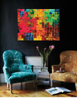 Abstract Stretched Canvas Print Framed Wall Art Home Office Pub Decor Painting