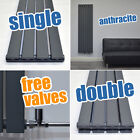 Vertical Designer Radiator Tall Bathroom Towel Rail Column Heating FREE VALVES!
