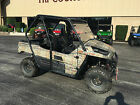 NO RESERVE 2014 Kawasaki KRF800D Teryx Side by Side Low Miles w WINCH UTV ATV
