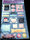 SHEET CRAFT LIFE IS SWEET, LOVE, WORDS DESIGN PUFFY 3D STICKERS 21cmx13cm UKSELL