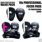 10 x Morgan Professional Focus Pads Boxing Mitts Strike Shield Target MMA NEW V2