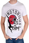 Voi Jeans Notorious Mens Casual American Football Helmet Graphic Print Tee Top
