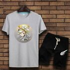 Game Overwatch Mercy Causal T-Shirt Cotton Causal Top+Shorts S-XXL For Men