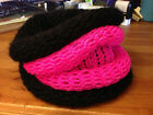 Hand Knitted-Neck Warmer-Infinity Scarf-Ring-Tube-Snood-Cowl-Shawl-Loop-Colours