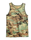 Rothco 6702 Woodland Camo Muscle Shirt / Tank Top